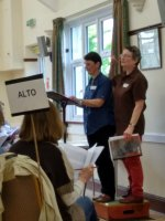It's a Double Act! - German coaching at the April 2018 workshop